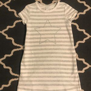 Girl's Old Navy Stripe w/ Glitter Star Dress